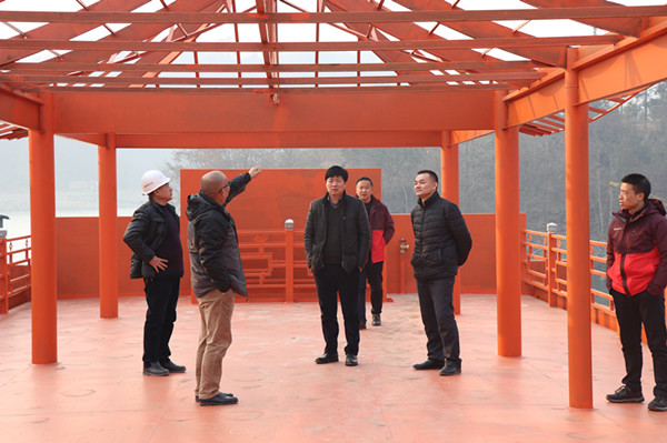 Qingjiang Gallery Company conducts pre-holiday safety production inspection